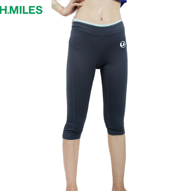 f32b95be74e04 HMILES women yaga shorts girls running tights sportswear fitness clothes  gym leggings capris cropped athletic sports trousers