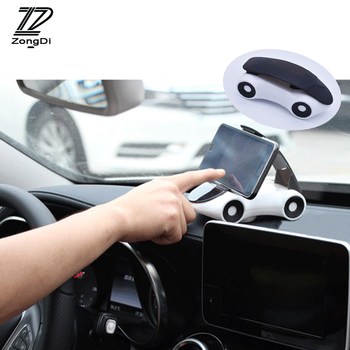 ZD Funny Car Styling Car Model Decoration Mobile Phone Holder For Mercedes W203 W211 W204 W210 Benz BMW F10 E34 E30 F20 X5 E70 image