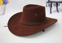 Hot Sale New Unisex fashion western cowboy hat tourist cap outdoor hat western hat gorras freeshipping