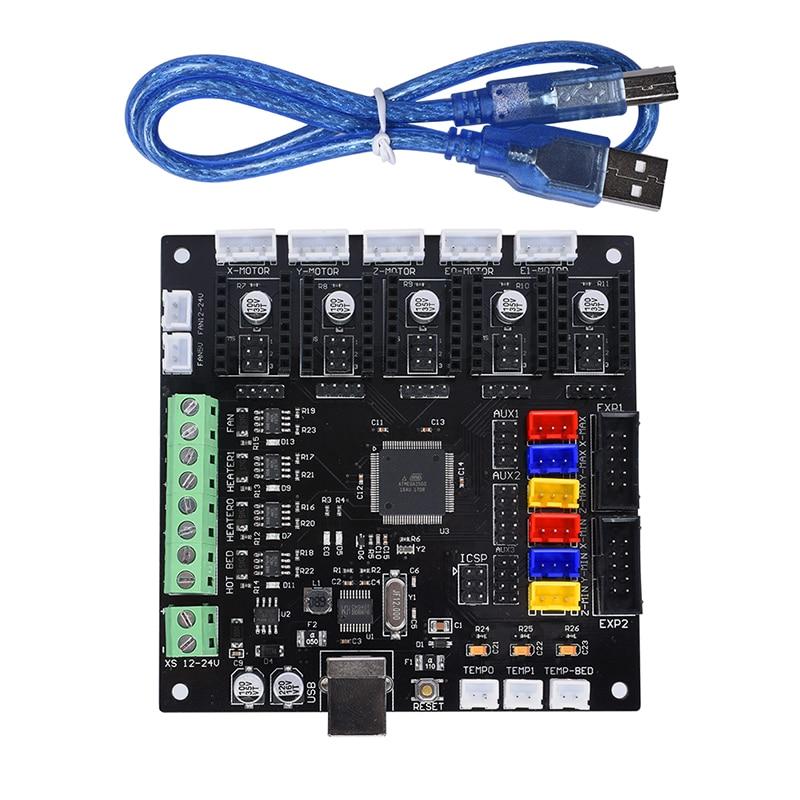 BIQU KFB2.0 3D Printer controller board Ramps1.4/Mega2560 R3 a4988/DRV8825/TMC2100 Reprap Mendel Kossel biqu bigtreetech gen v1 0 3d printer controller board 4 layers pcb mks gen v1 4 ramps1 4 mega2560 r3 a4988 drv8825 tmc2100