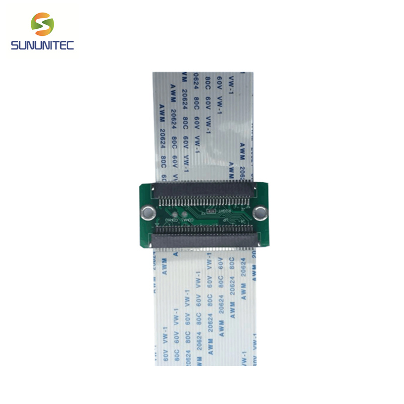 transfer connector board to change dx5 printhead to XP600 printhead
