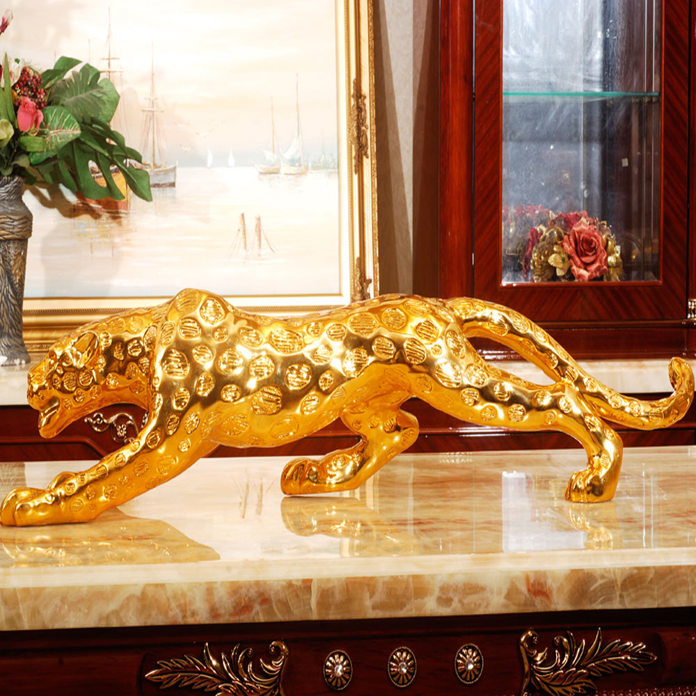 Fashion decoration crafts furnishings leopard home accessories fashion - Exquisite gift shop store