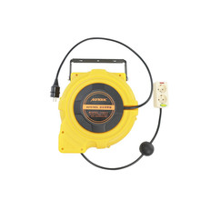 15m Automotive Electric Power Supply Hose Reel Automatic Retractable Reel Winder