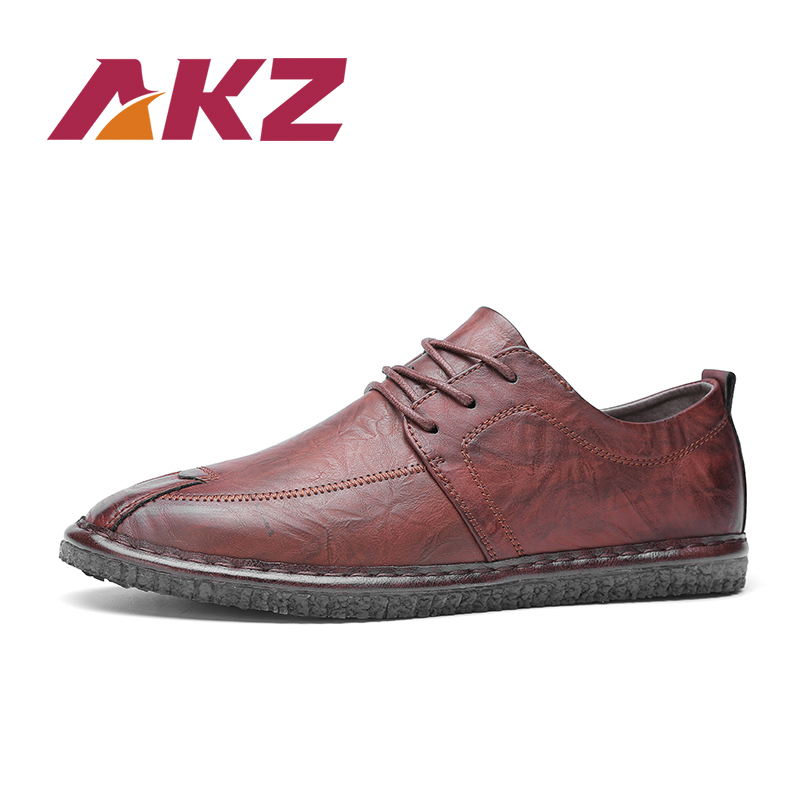 AKZ Brand Mens Casual Shoes 2018 New Spring summer In pelle - Scarpe da uomo