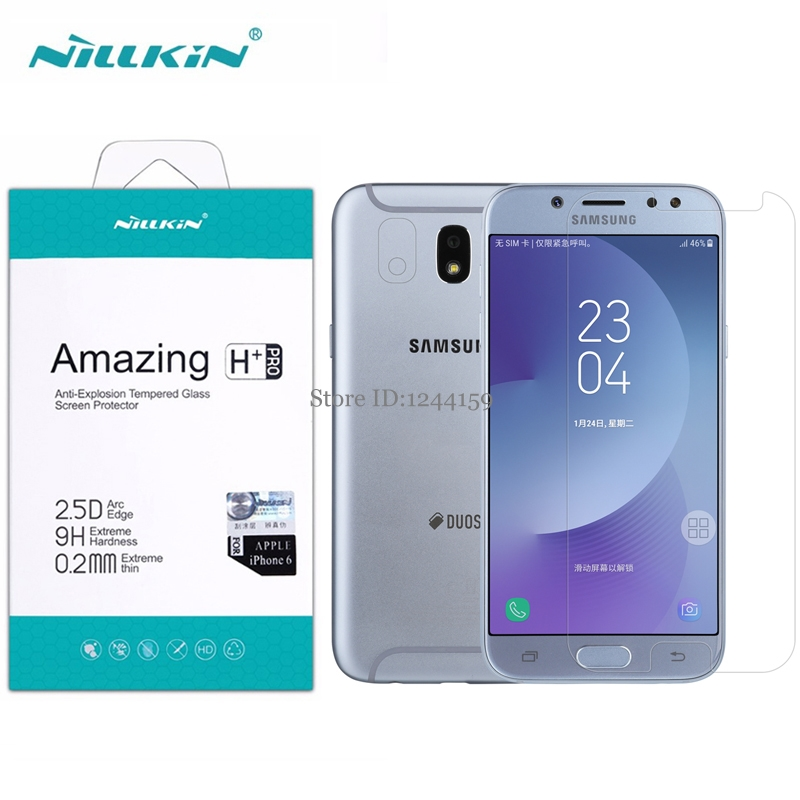 sFor Samsung Galaxy J5 2017 Tempered Glass Screen Protector NILLKIN 0.2mm H+PRO 2.5D Glass Protective Film For Samsung J5 2017sFor Samsung Galaxy J5 2017 Tempered Glass Screen Protector NILLKIN 0.2mm H+PRO 2.5D Glass Protective Film For Samsung J5 2017