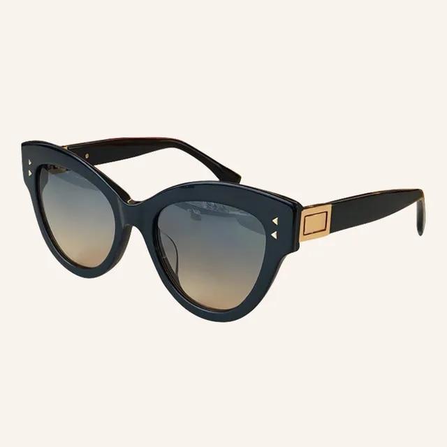 2019 Sexy Cat eye Shade for Women Fashion Sunglasses Woman Retro Cateye Glasses oculos feminino with Packing