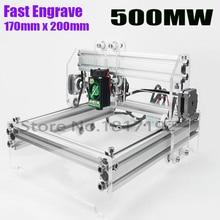 wood router,Fancy laser carving V1/500mw mini DIY laser engraving machine/IC marking/laser printer/carving work,Fastship DHL