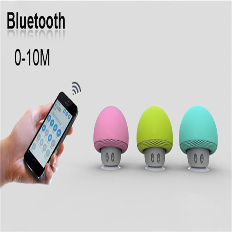 Waterproof Portable Wireless Mini Bluetooth Speaker Loudspeaker Mushroom Travel Speaker For Iphone PK BTS06 Q9 A9 S28