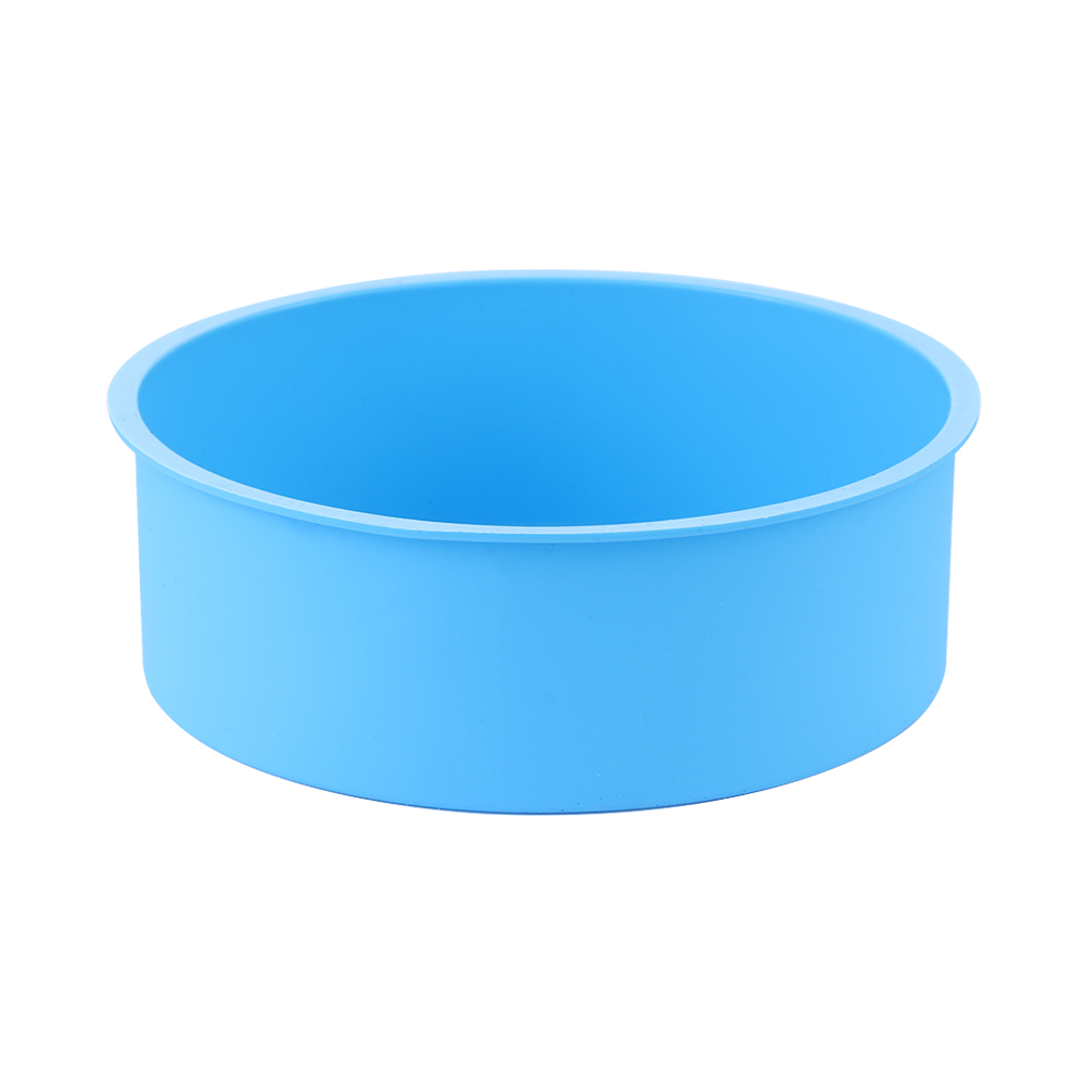 6inch Silicone Reusable and Non Stick Bakeware in Round Shape used for Cooking Confectionery Recipes with Decoration 4