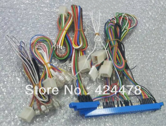 Wire Harness for POG Game Board cable for Pot o Gold T340 510 580 Slot Machine aliexpress com buy wire harness for pog game board cable for pot  at soozxer.org
