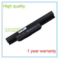 7800mah Laptop Battery A32 K53 For A43E A53S K43E K43U K43S X54 X54H K43SJ X54C X84
