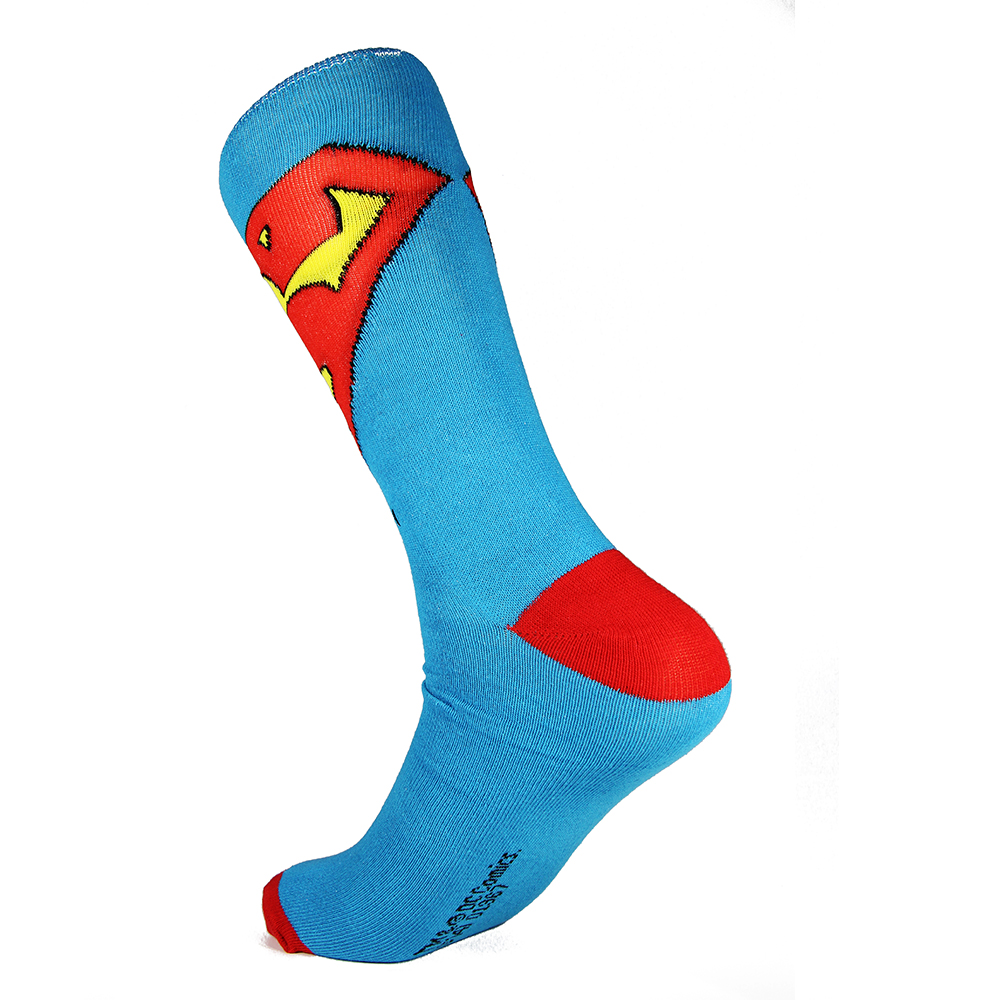 XAXBXC 2018 NEW Mens Cotton Sock Comics Cartoon The Avengers Hulk Superman Flash Knitted Midi Calf Casual Men Socks 3pairs/lot