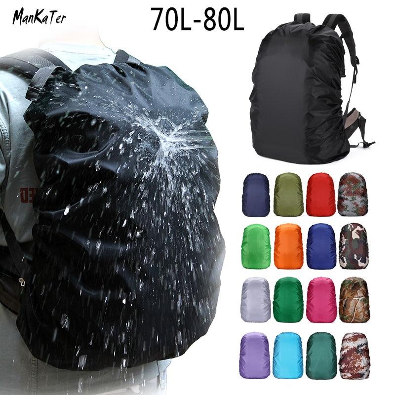 ManKaTer 70L75L80L Adjustable Waterproof Dustproof Sunscreen Portable Ultralight Backpack Rain Cover  Outdoor Bag ManKaTer 70L75L80L Adjustable Waterproof Dustproof Sunscreen Portable Ultralight Backpack Rain Cover  Outdoor Bag