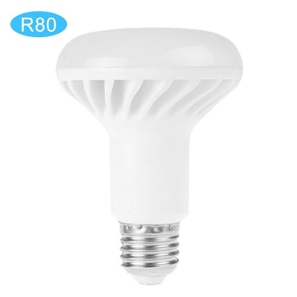 LEDGLE 9W LED Bulb Classic LED Light Bulb R80 LED bulbs with E27 Lamp Base, High CRI, Wide Beam Angle, Daylight White