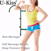 Muscle Pain Use Massager Tools Deep Pressure Therapy Cane Body Back Buddy Self Massage Tool Theracane