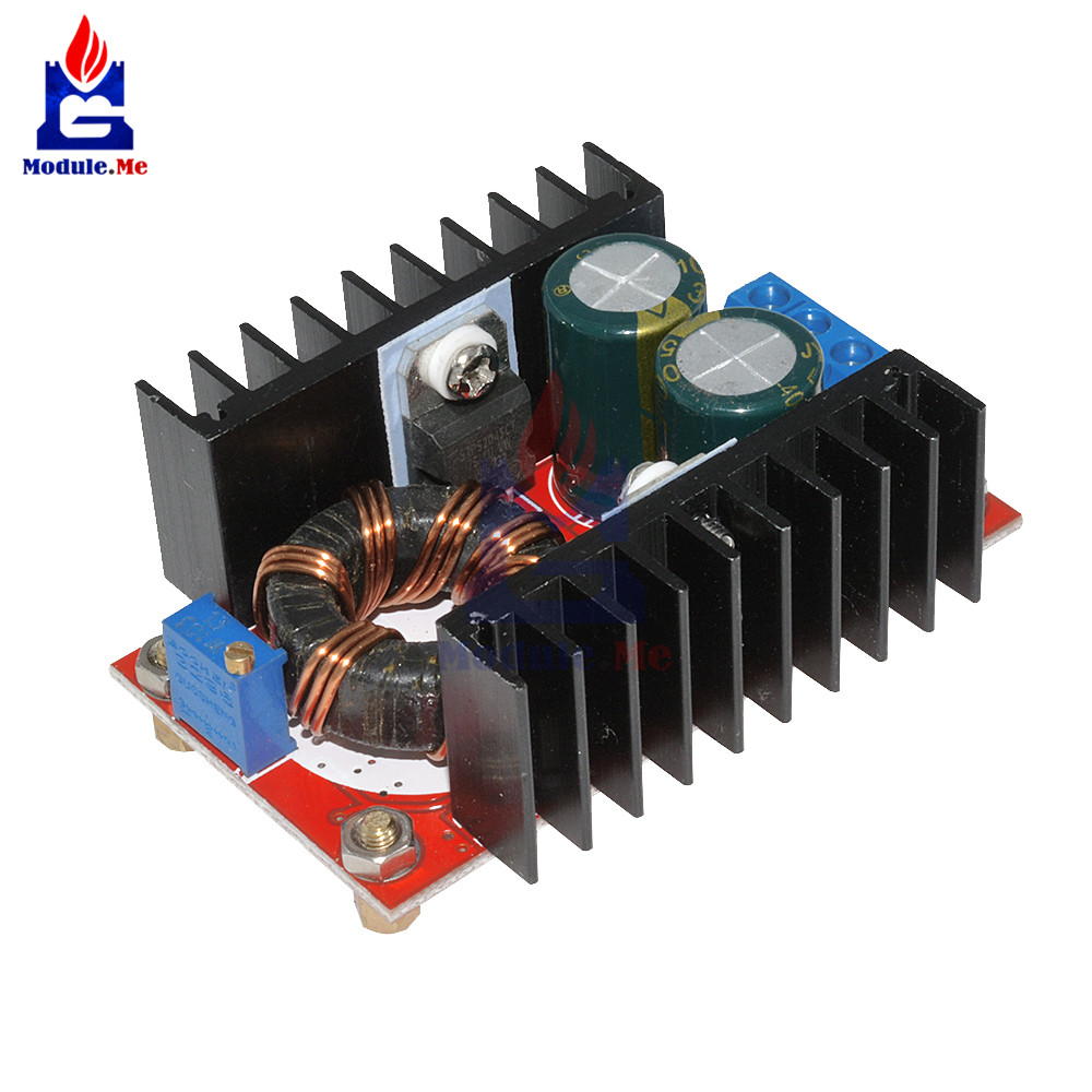 DC-DC DC <font><b>Boost</b></font> <font><b>Converter</b></font> DC <font><b>Converter</b></font> Step Up Module Adjustable Static Power Supply Voltage Regulator Step Up Module <font><b>150W</b></font> 5V image