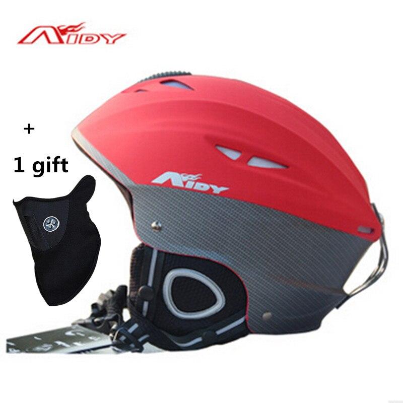 ФОТО 2016 Brand Ski helmet Integrally-molded professional adult Snowboard helmet Men Women Skating/Skateboard Winter sports helmets