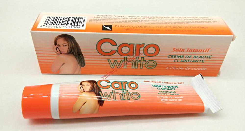 Caro White Lightening Beauty Cream With Carrot Oil 30ml
