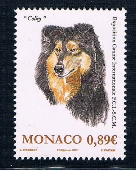 MN0556 Monaco 2012 Monte Carlo dog show stamp 1 new 0618 monte carlo techniques for electron radiotherapy