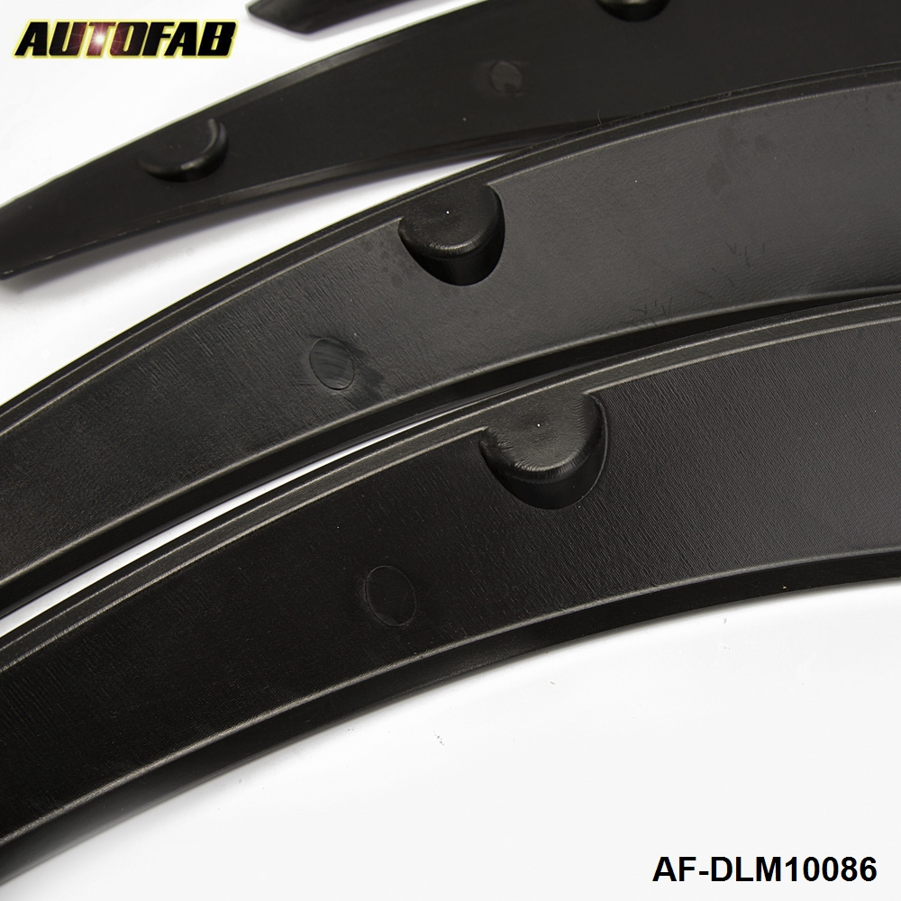 """Pair 29/"""" Silver Diffuser Wide Fender Flares For Chevy Wheel Wall Panel Bumper"""