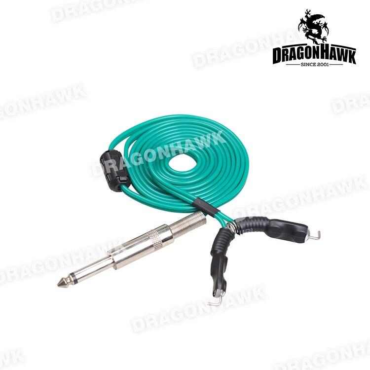1 stk 1,8m Tattoo Strømforsyning Clip Cord for Tattoo Power Supply - Tatovering og kroppskunst - Bilde 4