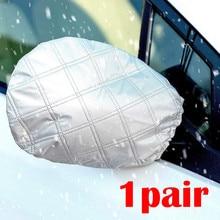Auto Specchio Coperture 1Pairs Auto Specchio di Vista Laterale della Neve E del Ghiaccio Della Copertura Invernale di Misura La Maggior Parte Universale Auto d4