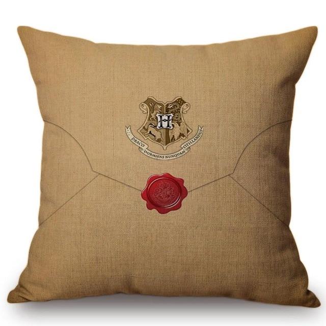 Cuscini decorativi Harry Potter Hogwarts Case Logo Modello Cuscino Per Il Sofà H
