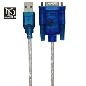 Image 5 - USB כדי RS 232 DB9 9 פינים סידורי כבל עם נקבה מתאם תומך 2M Windows 8 אין תקליטור