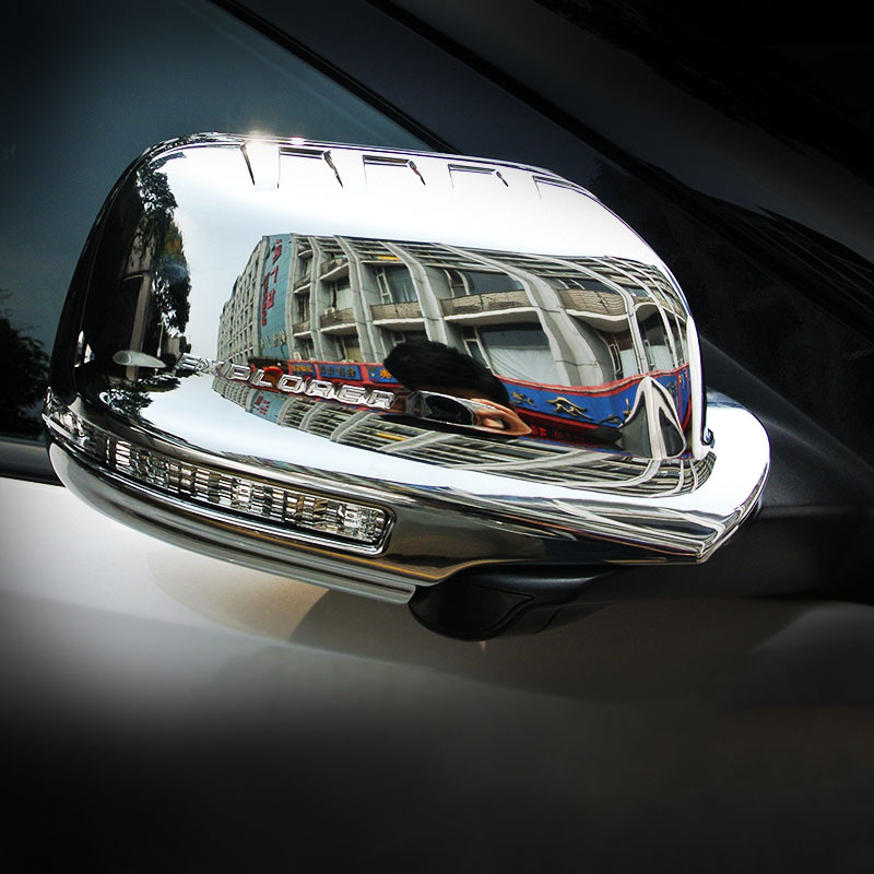 ФОТО for Ford Explorer ABS chrome mirror cover trim 2011 2012 2013 2014 2015 year