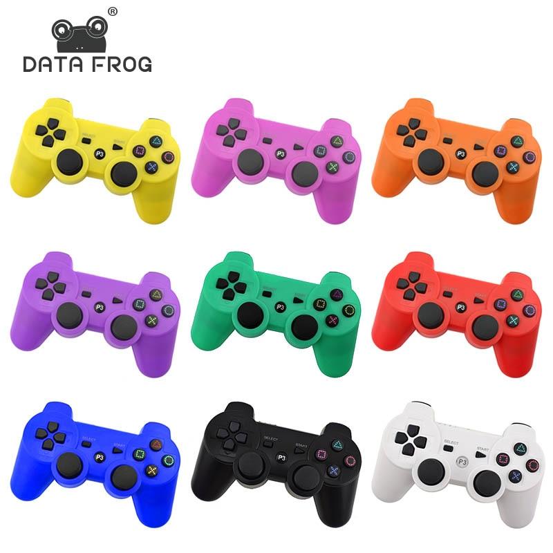 Data Frog para PS3 controlador inalámbrico Bluetooth Gamepad Joystick para Sony Playstation 3 para PC Gamepads
