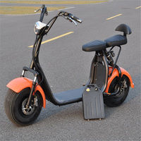 Adulto motocicleta elétrica da bateria de lítio removível removido cobrado ce 1500 W motor elétrico motocicletas bonito citycoco|Scooters elétricos| |  -