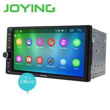 "JOYING Android 5.1 2GB RAM 32GB ROM 7"" radio 2Din Car radio head unit support steering-wheel control Audio auto Stereo wifi DVR"