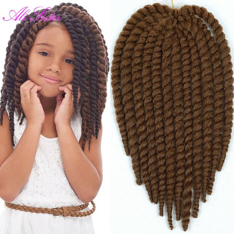 Pleasing 12Inch Havana Mambo Twist Crochet Braid Hair For Little Girl And Natural Hairstyles Runnerswayorg