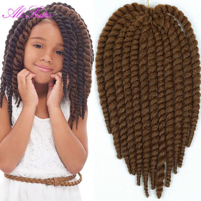 Crochet Braids Little Girl : com Buy 12inch havana mambo twist crochet braid hair for little girl