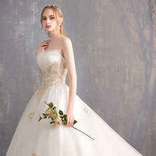 SERMENT  New Vintage Ball Gown Tulle Wedding Dress 2019 Princess Quality Lace Bride