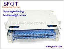 FTTH ODF 24 núcleos, 2U, 19″