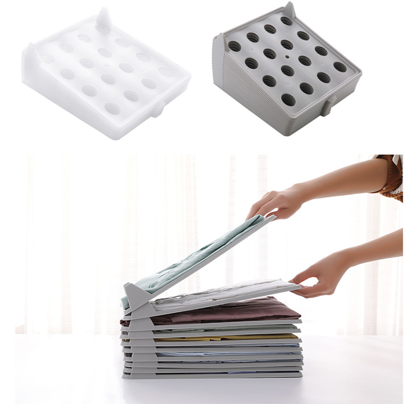 2019 PP Clothing Storage Board Economic Organizer For Shirt Drop Shipping