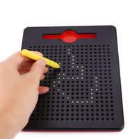 Writing Drawing Board Magnetic Steel Beads Ball Children Toy Gifts Creative