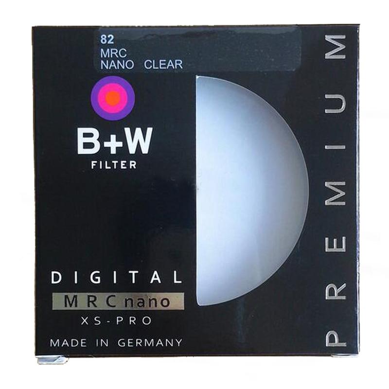 B + W 49mm 52mm 55mm 58mm 62mm 67mm 72mm 77mm 82mm MRC Circolare UV Ultra-Violet Filtro Protezione Dell'obiettivo Professionale come Hoya UV