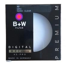 B + W 49 мм 52 мм 55 мм 58 мм 62 мм 67 мм 72 мм 77 мм 82 мм MRC Круглый УФ-фильтр Ультрафиолетовый фильтр защитное кольцо для объектива как HOYA УФ