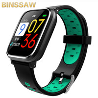 2019 Newest Blood Pressure Q58 Smart Watch Heart Rate Pulse Sports Watches Swimming Band smart wristwatch Waterproof Alarm Clock