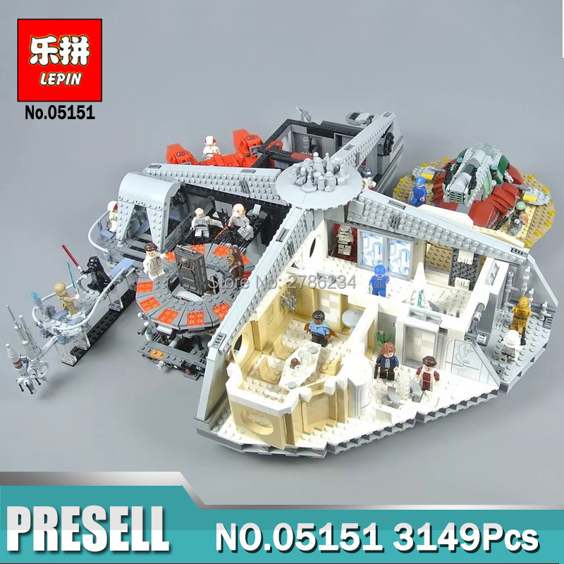 DHL Lepin 05151 The Cloud City Set Compatible Legoingly 75222 Wars on Star Series DIY Building Blocks Kids Toys Christmas Gifts lepin 05151 3149pcs star wars betrayal at cloud city sets model building kits blocks bricks kids toys compatible legoing 75222