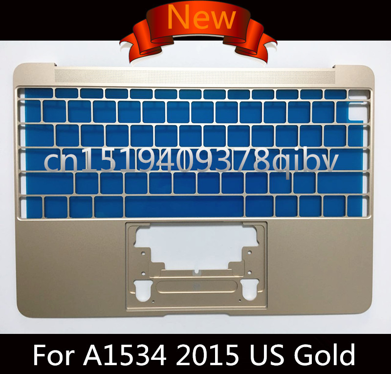 New Genuine US Standard Topcase for MacBook Pro Retina 12 Core M 12 A1534 2015 2016 Year Top Case Without Keyboard 4 Colors new laptop keyboard for asus g74 g74sx 04gn562ksp00 1 okno l81sp001 backlit sp spain us layout