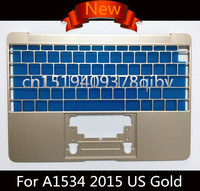 New Genuine US Standard Topcase for MacBook Pro Retina 12 Core M 12 A1534 2015 2016 Year Top Case Without Keyboard 4 Colors