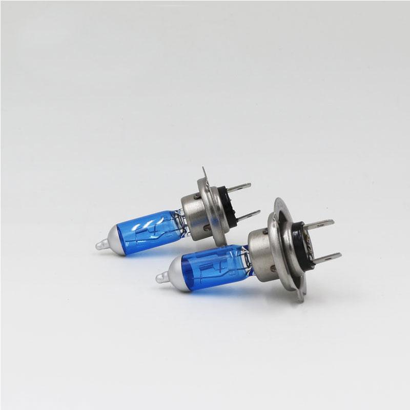 2PCS H7 Halogen Bulb 12V 55W 4300K Super White Schoot Glass Xenon Car Headlight Lamp Light Bulbs For Car Auto Lamp Light Source
