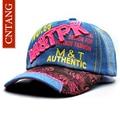 CNTANG 2017 Fashion Denim Caps Women Baseball Cap Spring Hip Hop Skull Snapback Hat Summer Casual Baseball Hats For Female