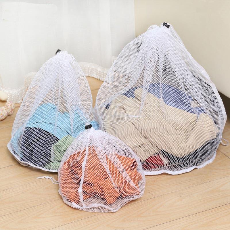 Large Washing Bags Washing Machine Special Laundry Bag Fine Net Bra Wash Bag Underwear Hood Thicker Bag Laundry Supplies