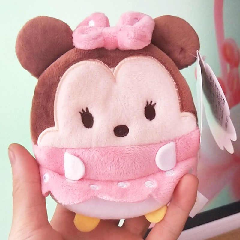 Disney phim hoạt hình ví sang trọng dễ thương đồ chơi sang trọng đồng xu ví Stitch Mickey Chuột Minnie túi xách sang trọng trẻ em cậu bé cô gái món quà Kích Thước 11x10 cm