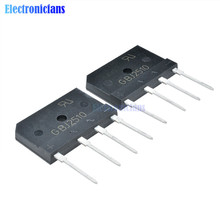 Bridge-Rectifier Diode 1000V 25A GBJ2510 10PCS Single-Phase New-Arrival