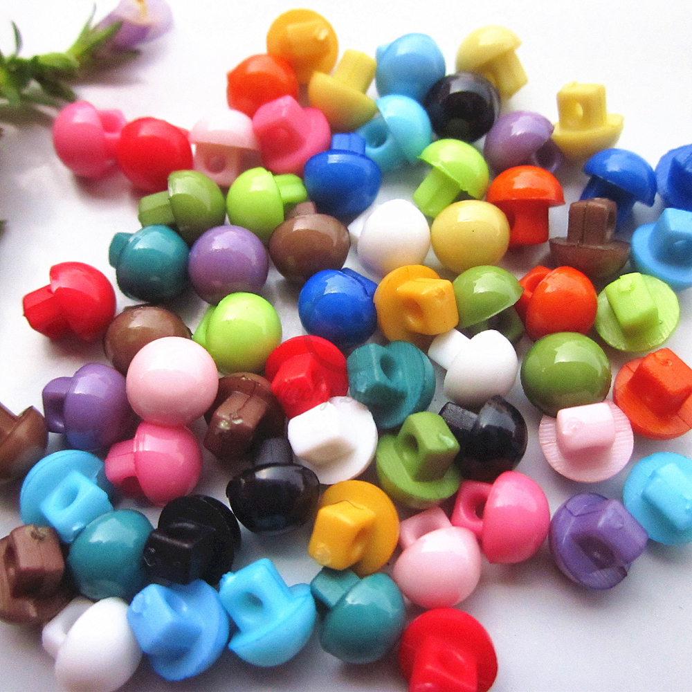 Mini buttons 144pcs 1   mixed color shank 5mm buttons little doll buttons  for diy sewing craft and scrapbooking accessories-in Buttons from Home    Garden on ... f3e2501edcc9